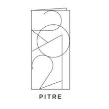 2021 Carte de voeux picto du modèle Pitre de la collection intaglio