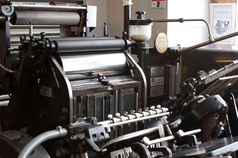 Technique imprimerie luxe